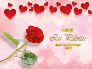 Scopri l'evento di San Valentino del Ristorante Lu Pilottu